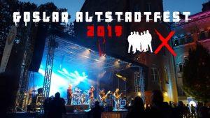 Die Band Next to Come live auf der Jungen Bühne beim Altstadtfest Goslar.